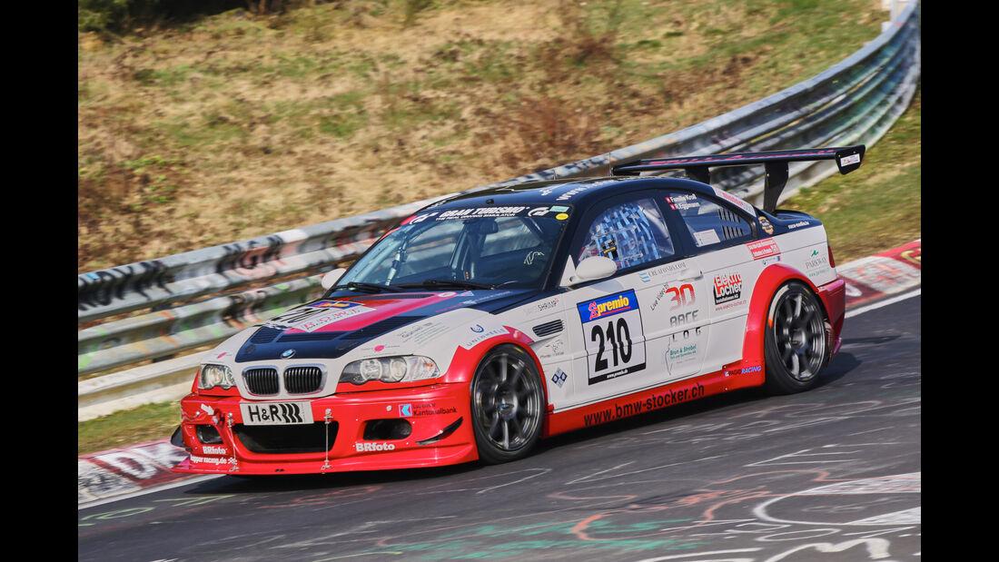 VLN 2016 - Nürburgring Nordschleife - Startnummer #210 - BMW M3 GTR - SP6