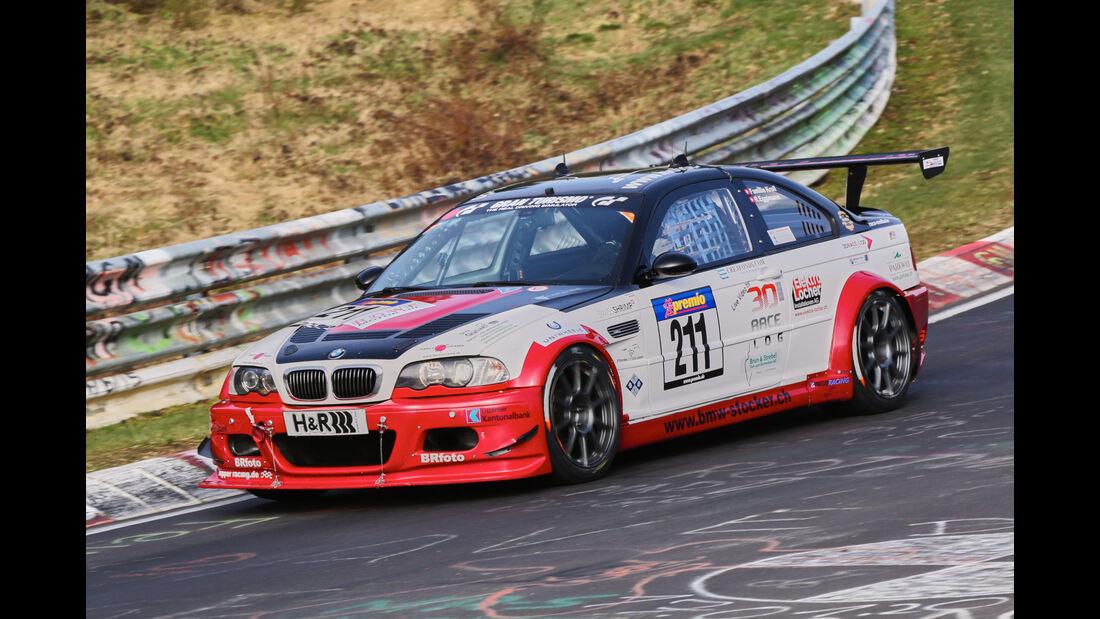VLN 2016 - Nürburgring Nordschleife - Startnummer #211 - BMW M3 CSL - SP6