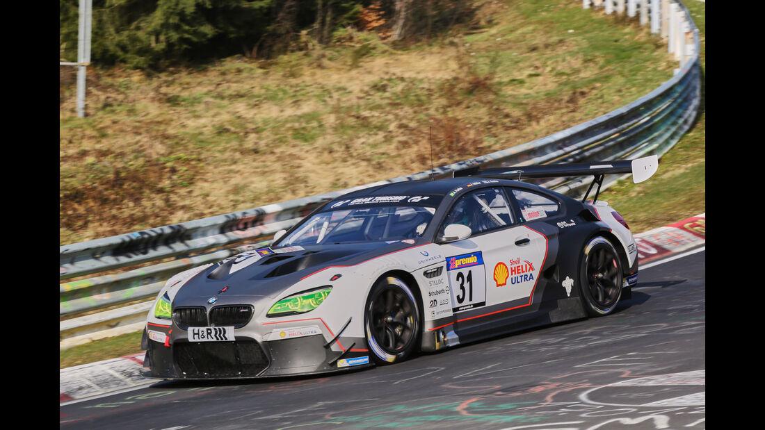 VLN 2016 - Nürburgring Nordschleife - Startnummer #31 - BMW M6 GT3 - SP9