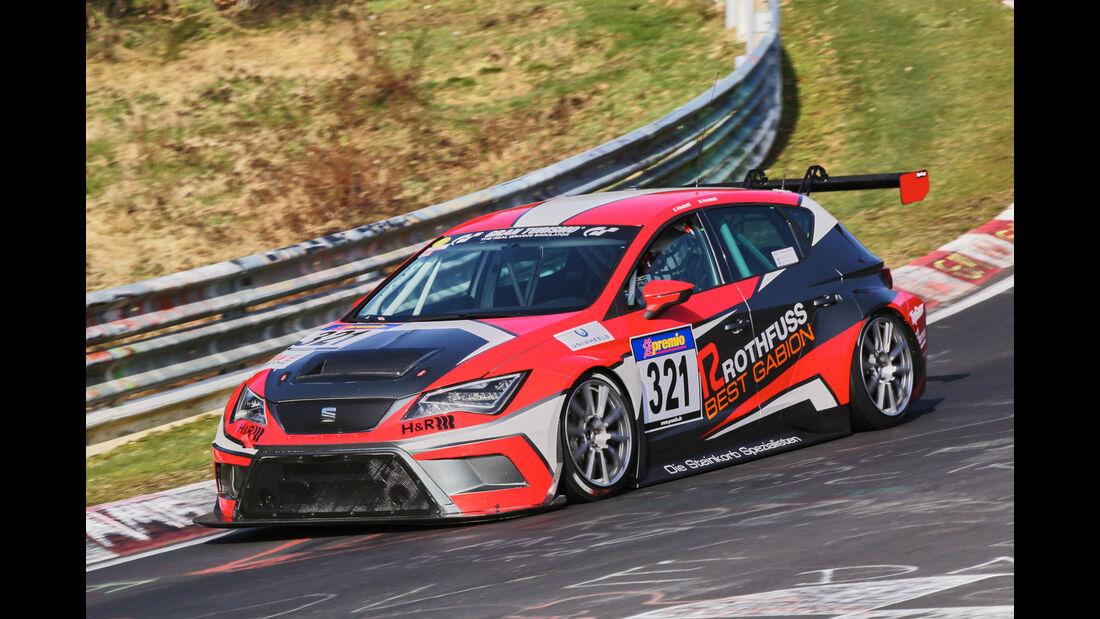 VLN 2016 - Nürburgring Nordschleife - Startnummer #321 - Seat Leon Cup Racer - SP3T