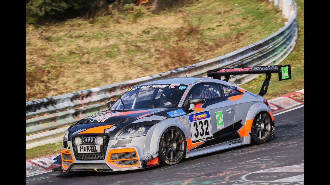VLN 2016 - Nürburgring Nordschleife - Startnummer #332 - Audi AUDI TT - SP3T