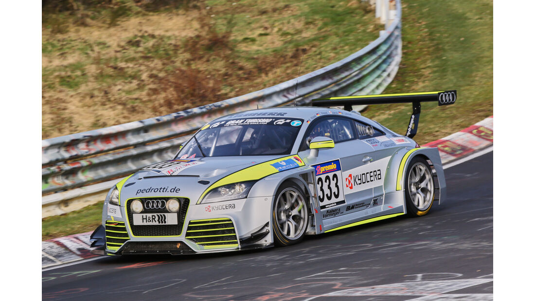 VLN 2016 - Nürburgring Nordschleife - Startnummer #333 - Audi AUDI TT RS - SP3T