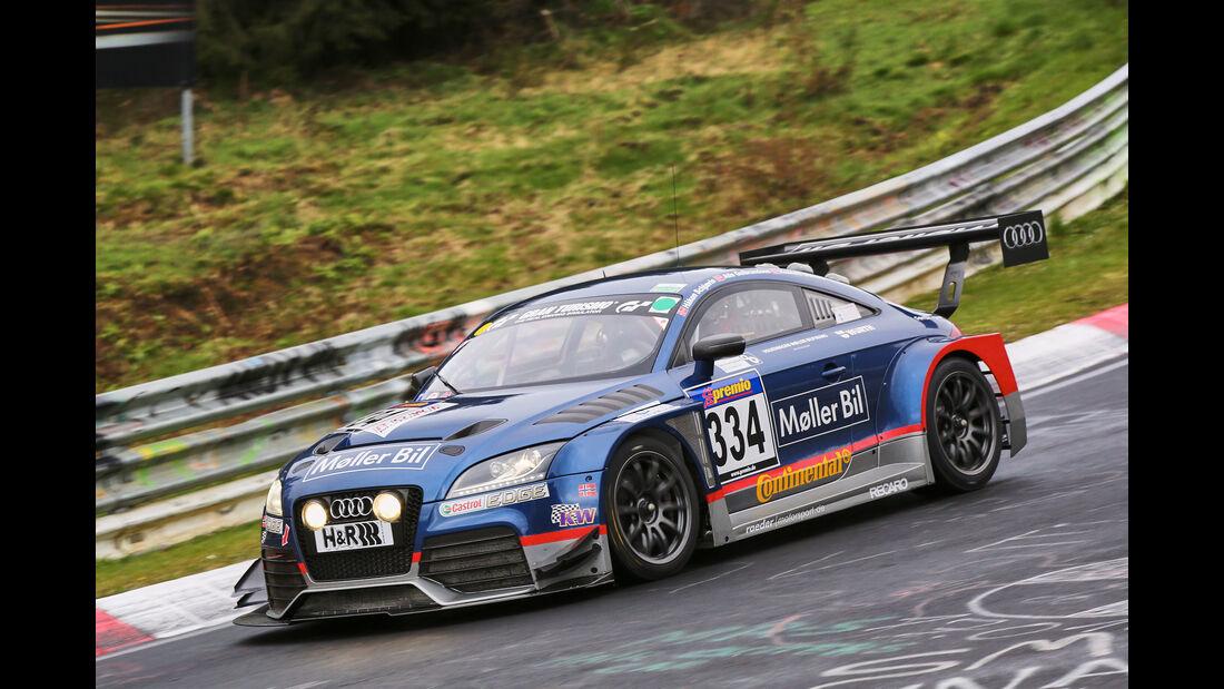 VLN 2016 - Nürburgring Nordschleife - Startnummer #334 - Audi TTRS 2.0 - SP3T