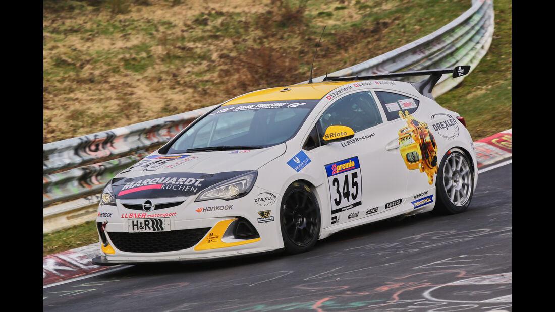 VLN 2016 - Nürburgring Nordschleife - Startnummer #345 - Opel Astra Opc Cup - CUP1
