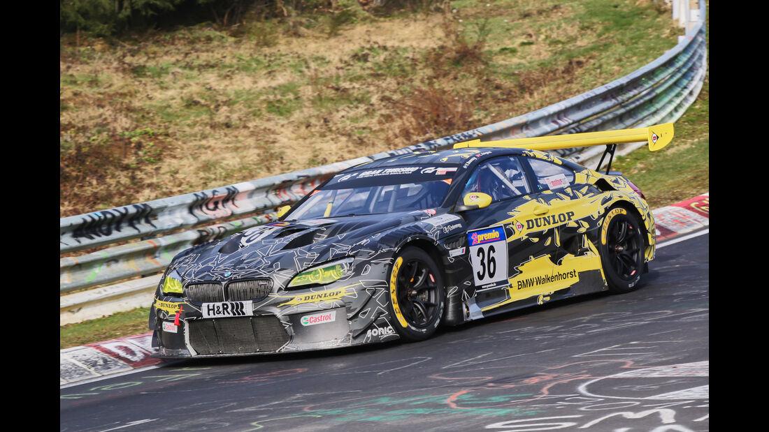 VLN 2016 - Nürburgring Nordschleife - Startnummer #36 - BMW M6 GT3 - SP9