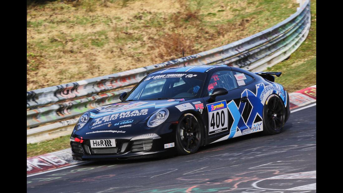 VLN 2016 - Nürburgring Nordschleife - Startnummer #400 - Porsche 911 - V6