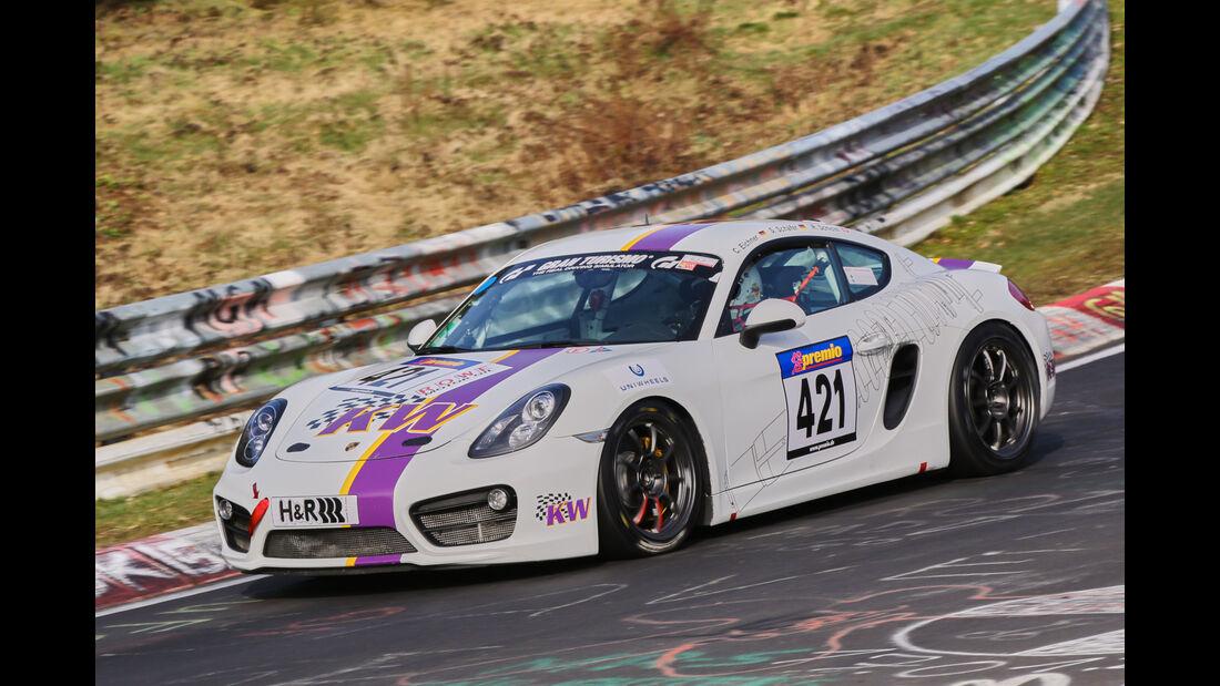 VLN 2016 - Nürburgring Nordschleife - Startnummer #421 - Porsche Cayman S - V6