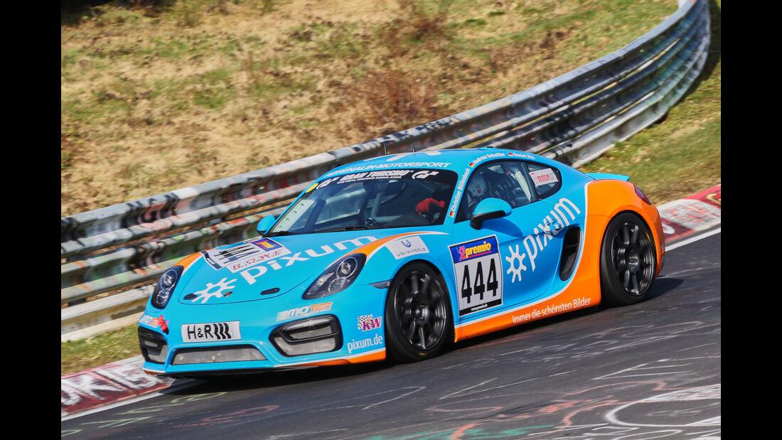 VLN 2016 - Nürburgring Nordschleife - Startnummer #444 - Porsche Cayman 981 - V5