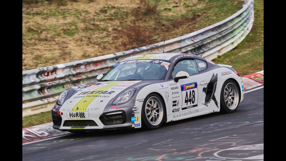 VLN 2016 - Nürburgring Nordschleife - Startnummer #448 - Porsche Cayman - V5