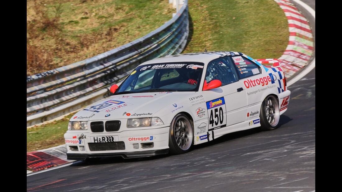 VLN 2016 - Nürburgring Nordschleife - Startnummer #450 - BMW E36 - V5