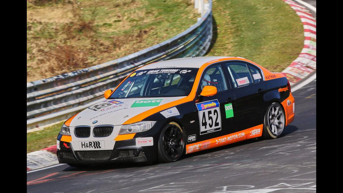 VLN 2016 - Nürburgring Nordschleife - Startnummer #452 - BMW 330i - V5