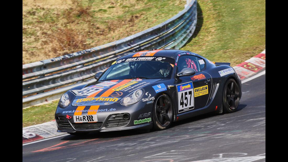 VLN 2016 - Nürburgring Nordschleife - Startnummer #457 - Porsche Cayman 987 - V5