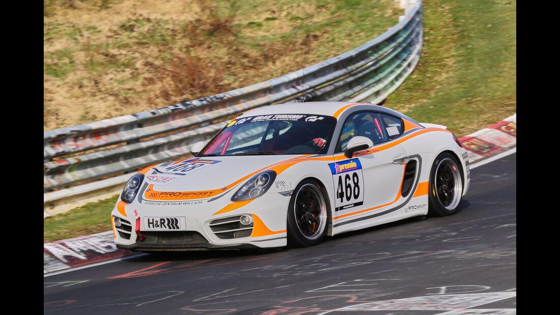 VLN 2016 - Nürburgring Nordschleife - Startnummer #468 - Porsche Cayman - V5