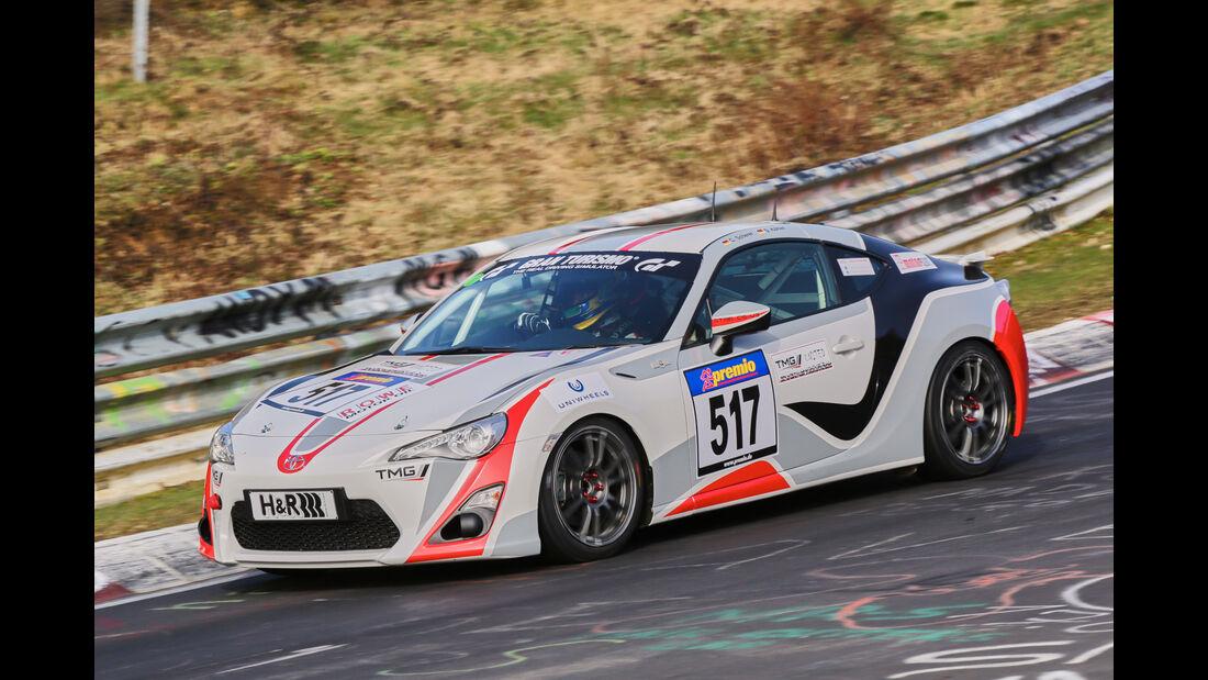 VLN 2016 - Nürburgring Nordschleife - Startnummer #517 - Toyota GT86 - V3