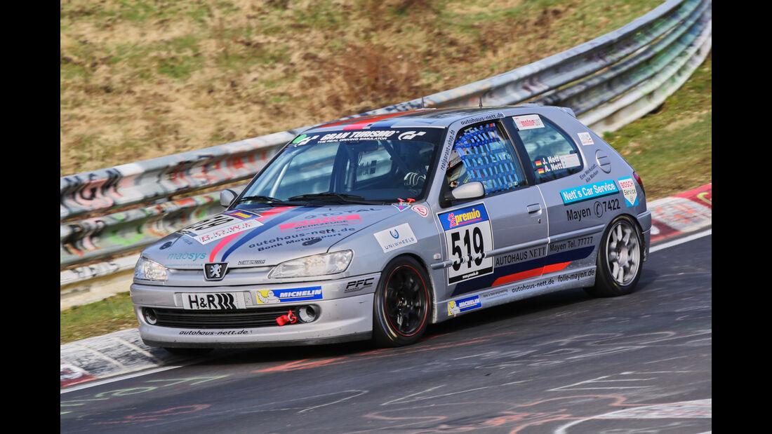 VLN 2016 - Nürburgring Nordschleife - Startnummer #519 - Peugeot 306 S16 - V3