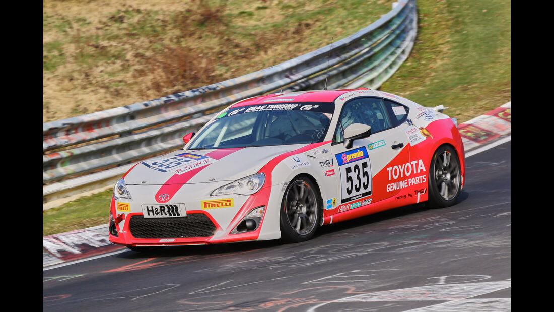 VLN 2016 - Nürburgring Nordschleife - Startnummer #535 - Toyota GT86 - CUP4