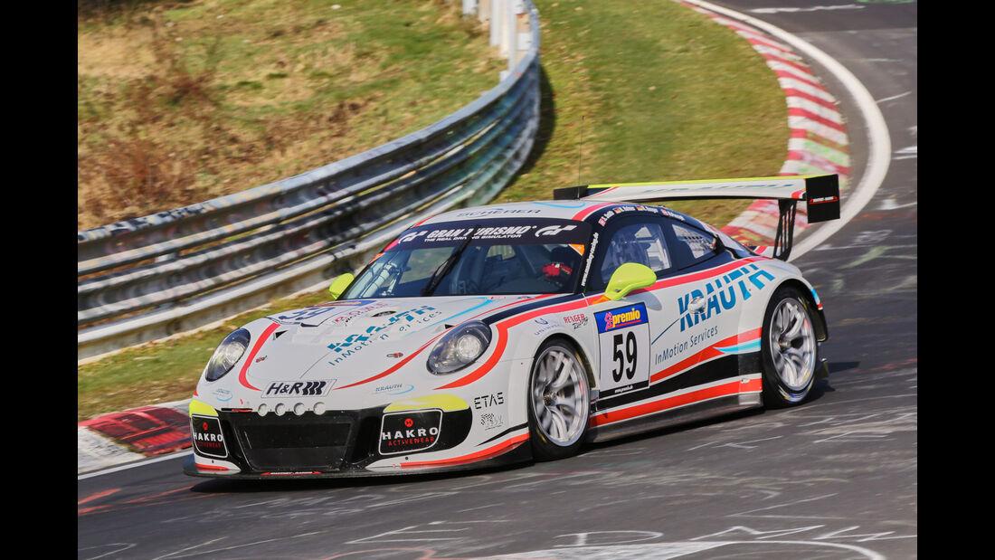 VLN 2016 - Nürburgring Nordschleife - Startnummer #59 - Porsche 911 GT3 Cup MR - SP9