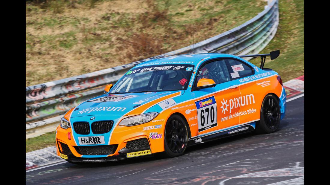 VLN 2016 - Nürburgring Nordschleife - Startnummer #670 - BMW M235i Racing Cup - CUP5