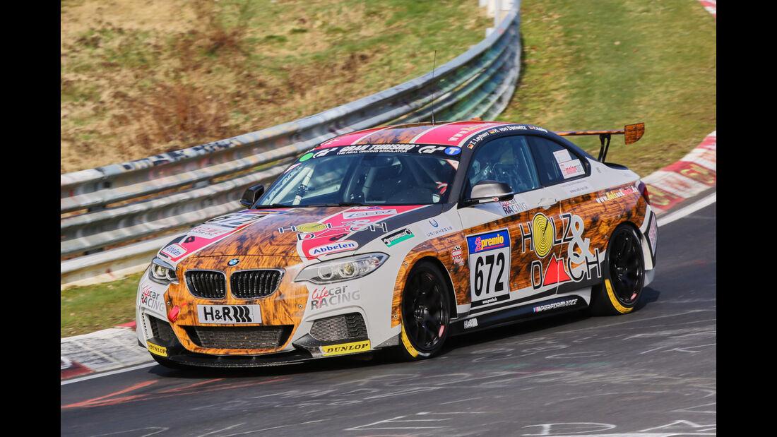 VLN 2016 - Nürburgring Nordschleife - Startnummer #672 - BMW M235i Racing Cup - CUP5