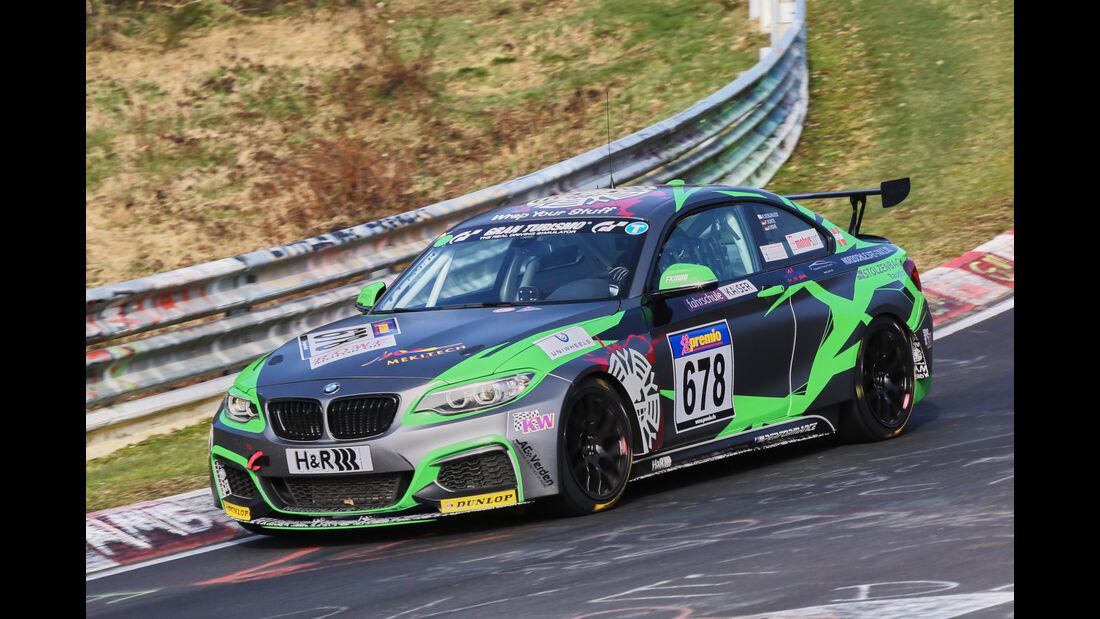 VLN 2016 - Nürburgring Nordschleife - Startnummer #678 - BMW M235i Racing Cup - CUP5