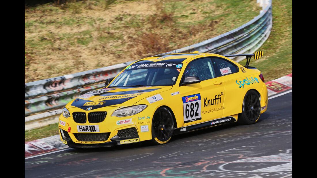 VLN 2016 - Nürburgring Nordschleife - Startnummer #682 - BMW M235i Racing Cup - CUP5