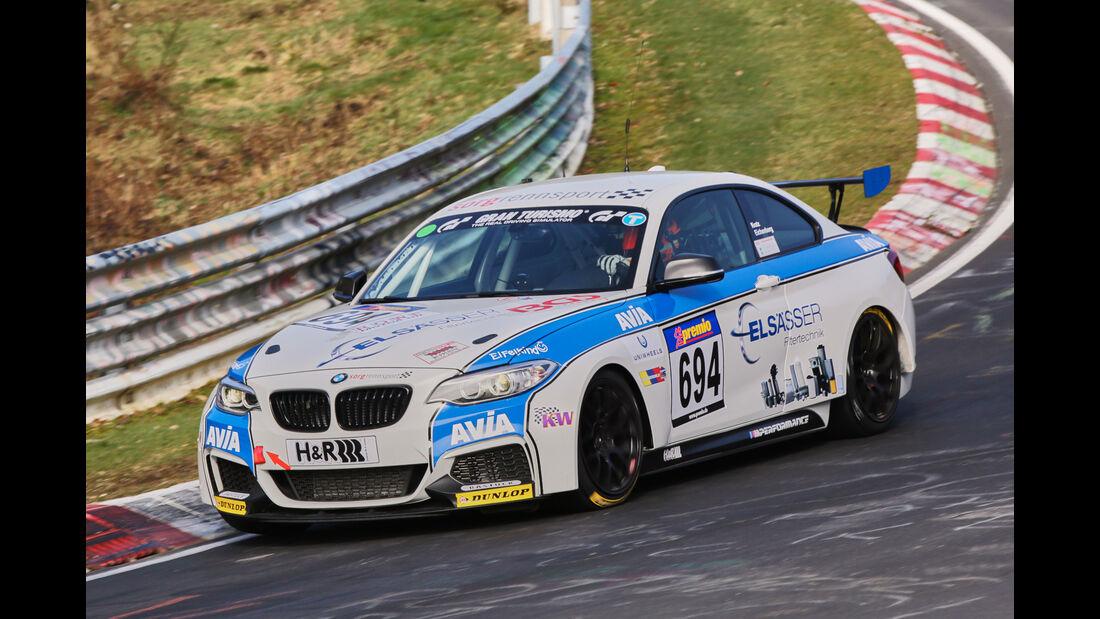 VLN 2016 - Nürburgring Nordschleife - Startnummer #694 - BMW M235i Racing Cup - CUP5