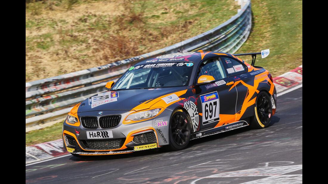 VLN 2016 - Nürburgring Nordschleife - Startnummer #697 - BMW M235i Racing Cup - CUP5