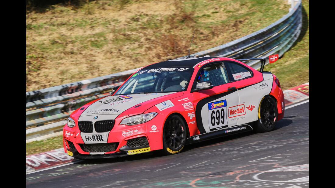 VLN 2016 - Nürburgring Nordschleife - Startnummer #699 - BMW M235i Racing Cup - CUP5