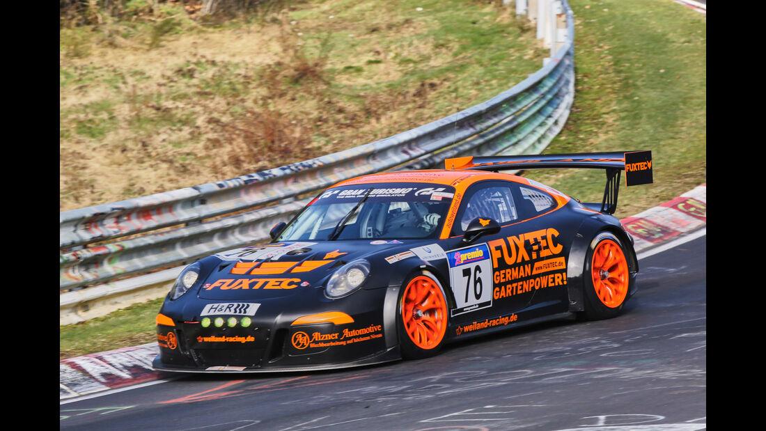 VLN 2016 - Nürburgring Nordschleife - Startnummer #76 - Porsche 991 GT3 MR - SP7