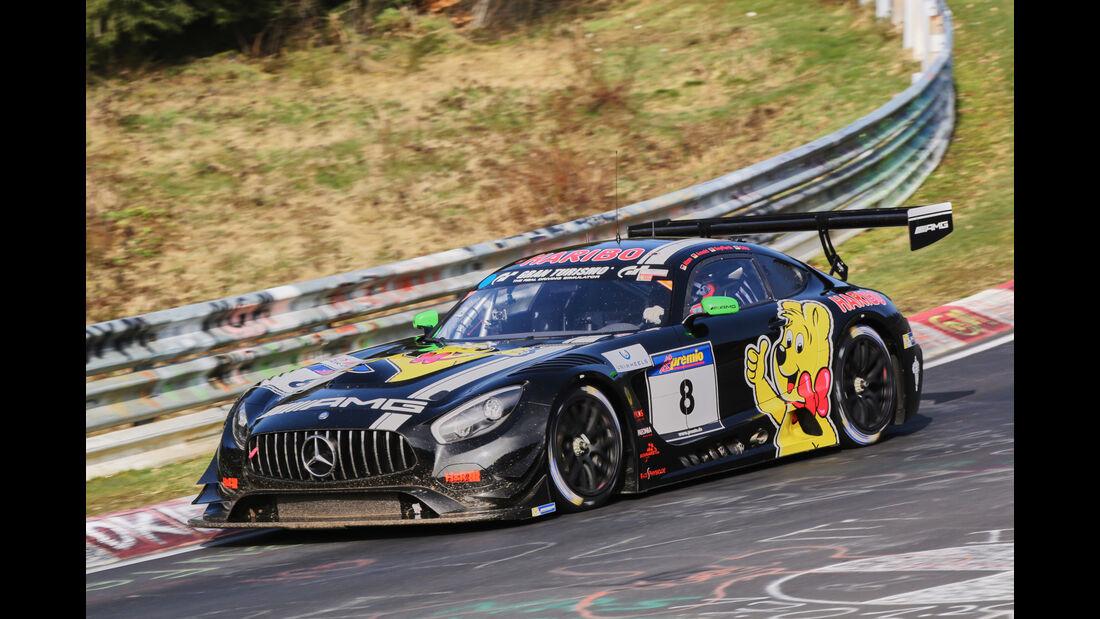 VLN 2016 - Nürburgring Nordschleife - Startnummer #8 - Mercedes-AMG GT3 - SP9