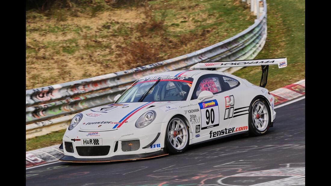 VLN 2016 - Nürburgring Nordschleife - Startnummer #90 - Porsche 991 GT3 Cup - SP7