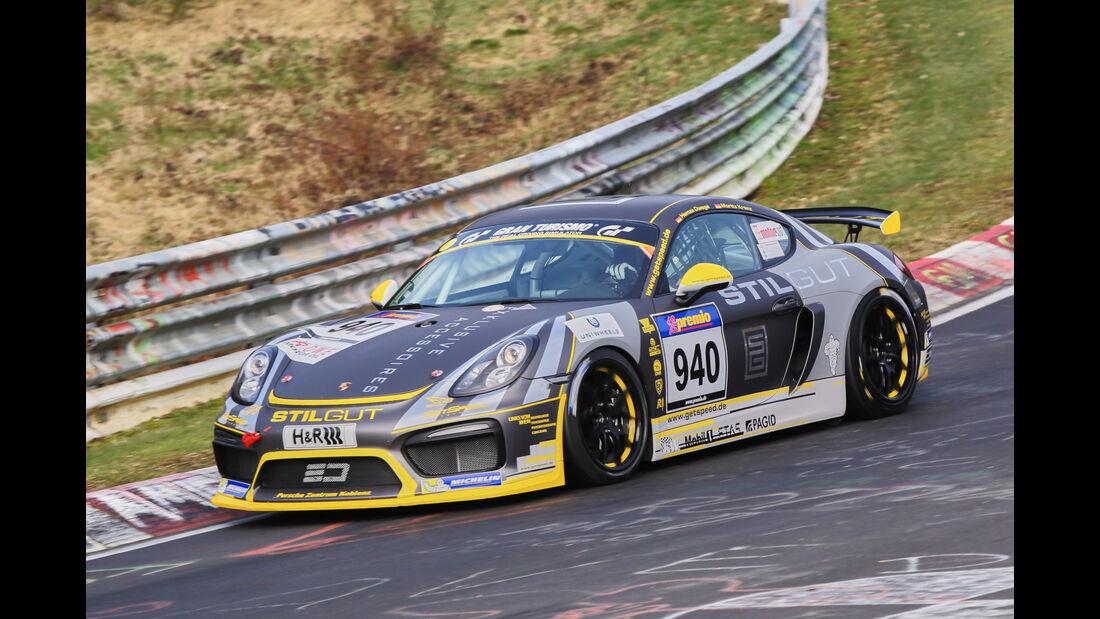 VLN 2016 - Nürburgring Nordschleife - Startnummer #940 - Porsche Cayman GT4 Clubsport - CUP3