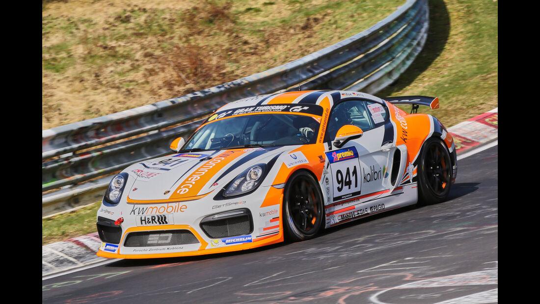 VLN 2016 - Nürburgring Nordschleife - Startnummer #941 - Porsche Cayman GT4 Clubsport - CUP3