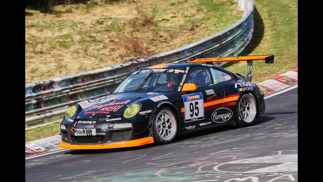 VLN 2016 - Nürburgring Nordschleife - Startnummer #95 - Porsche GT3 Cup - SP7