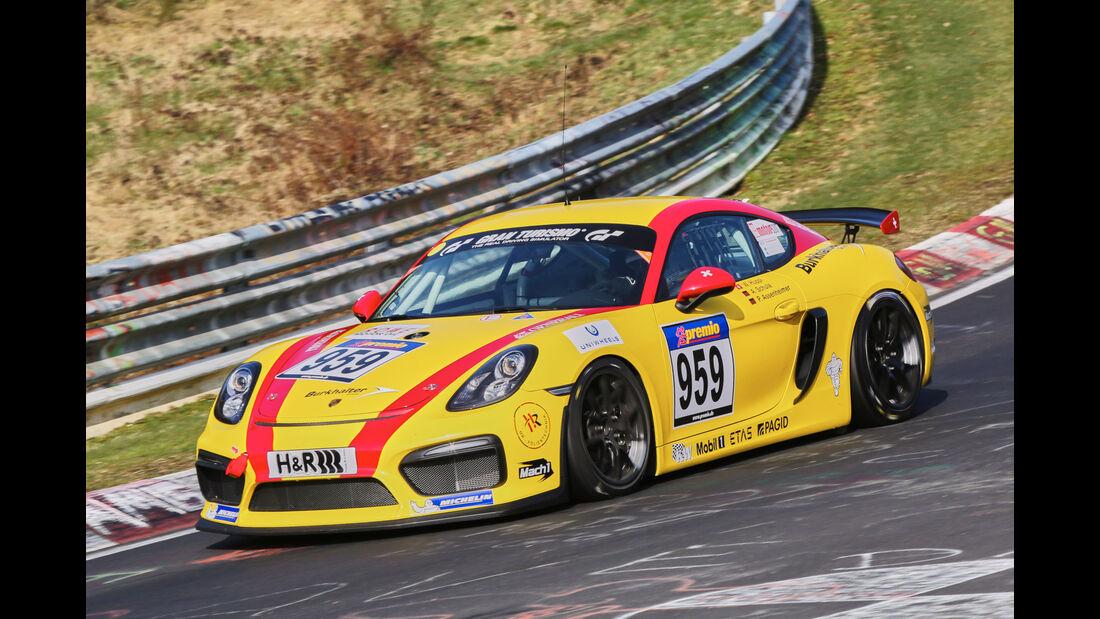 VLN 2016 - Nürburgring Nordschleife - Startnummer #959 - Porsche Cayman GT4 Clubsport - CUP3