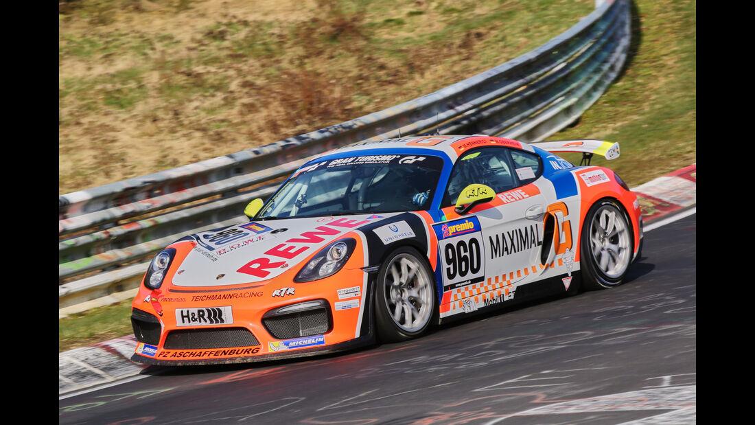 VLN 2016 - Nürburgring Nordschleife - Startnummer #960 - Porsche Cayman GT4 Clubsport - CUP3