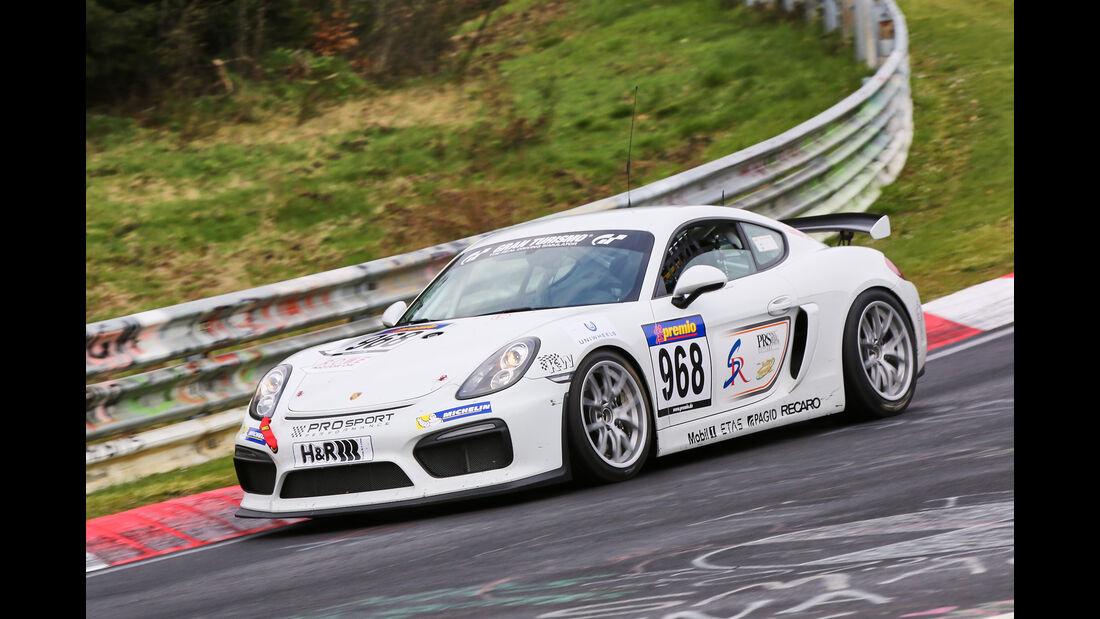 VLN 2016 - Nürburgring Nordschleife - Startnummer #968 - Porsche Cayman GT4 Clubsport - CUP3