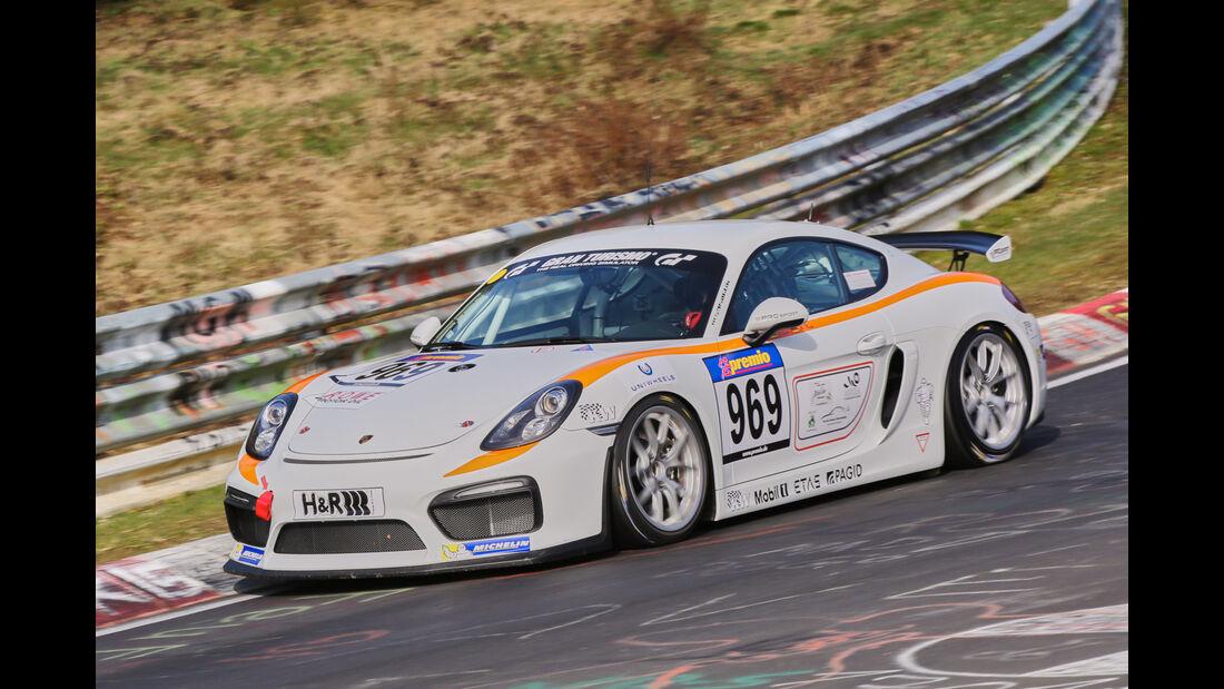 VLN 2016 - Nürburgring Nordschleife - Startnummer #969 - Porsche Cayman GT4 Clubsport - CUP3