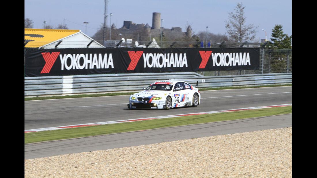 VLN 3.Lauf Langstreckenmeisterschaft Nürburgring, BMW Motorsport, Jörg Müller, Augusto Farfus, Pedro Lamy, 24-04-2010
