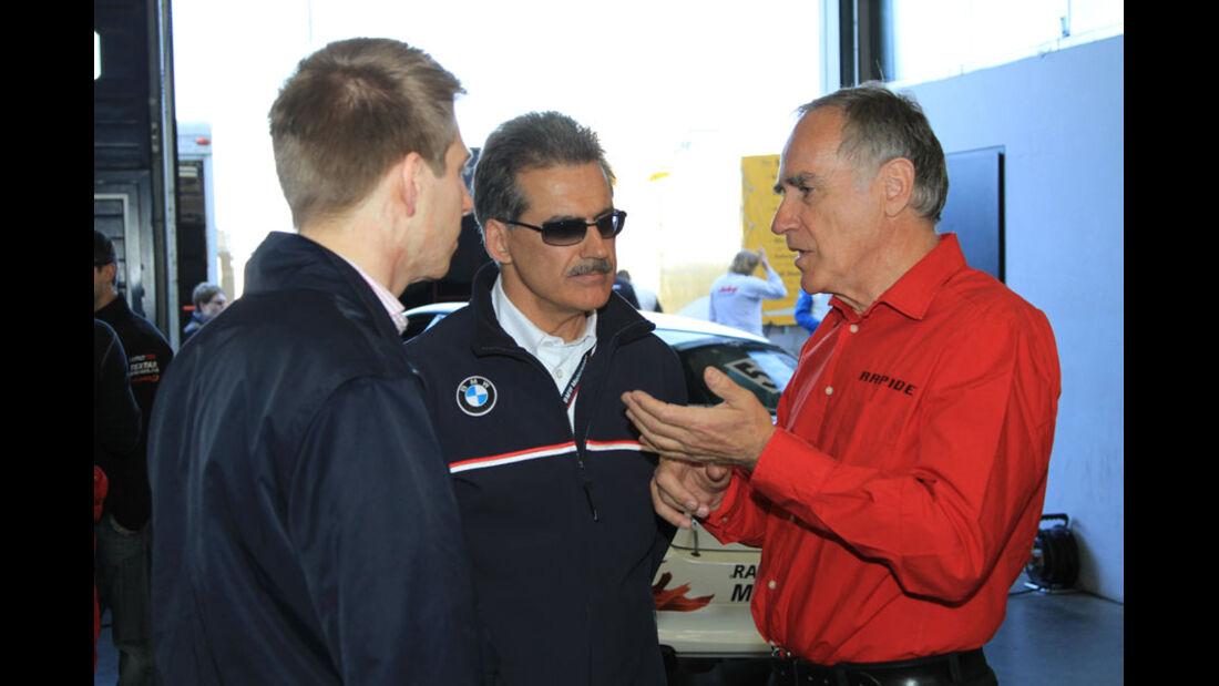 VLN 3.Lauf Langstreckenmeisterschaft Nürburgring Dr.Mario Theissen, Dr. Ulrich Betz  24-04-2010