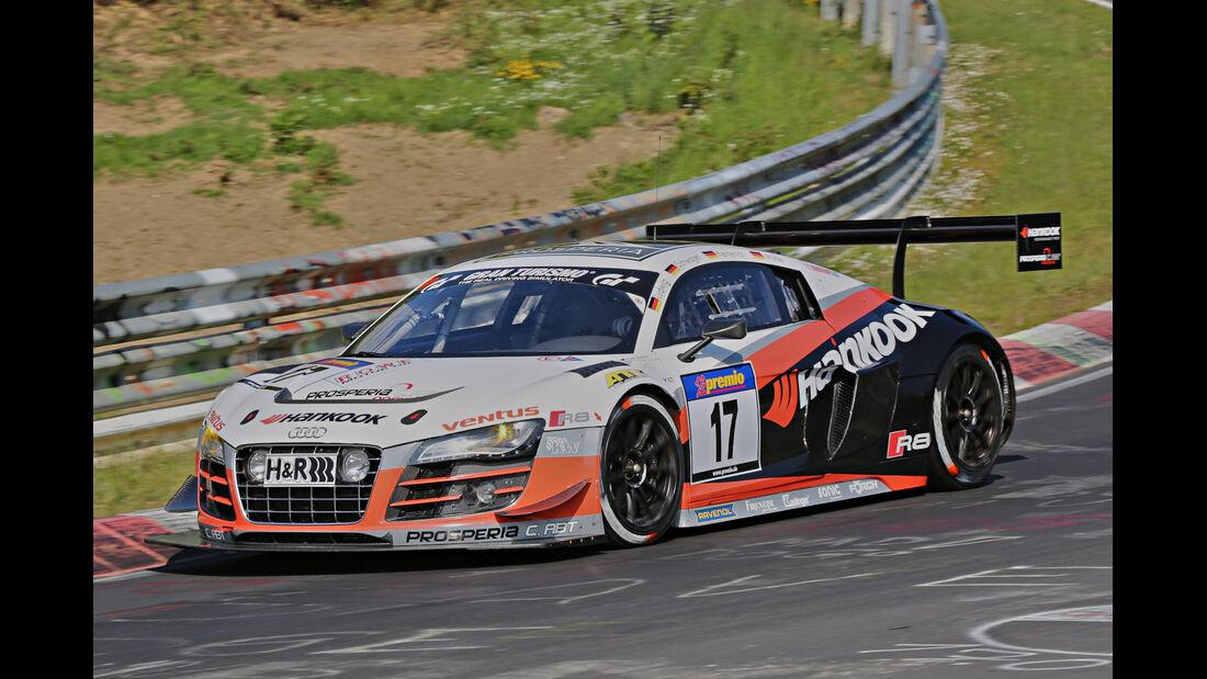 VLN Langstreckenmeisterschaft, Nürburgring, Audi R8 LMS ultra, Prosperia C. Abt Racing GmbH, SP9, #17