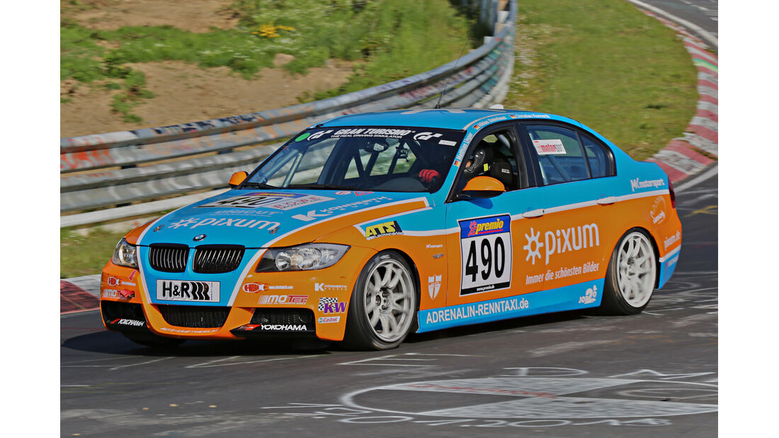 VLN Langstreckenmeisterschaft, Nürburgring, BMW 325i, Adrenalin Motorsport, V4, #490