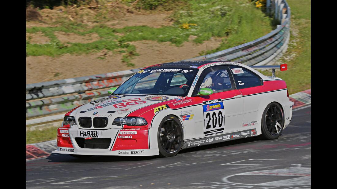 VLN Langstreckenmeisterschaft, Nürburgring, BMW M3, Team Securtal Sorg Rennsport, SP6, #200