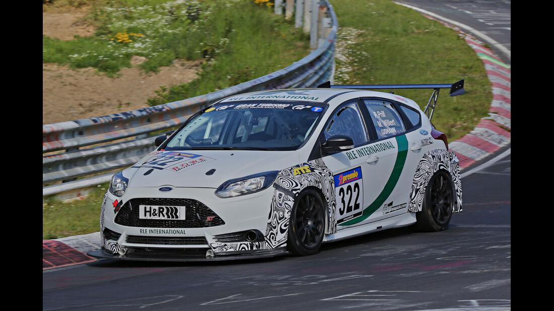 VLN Langstreckenmeisterschaft, Nürburgring, Ford Focus ST, SP3T, #322