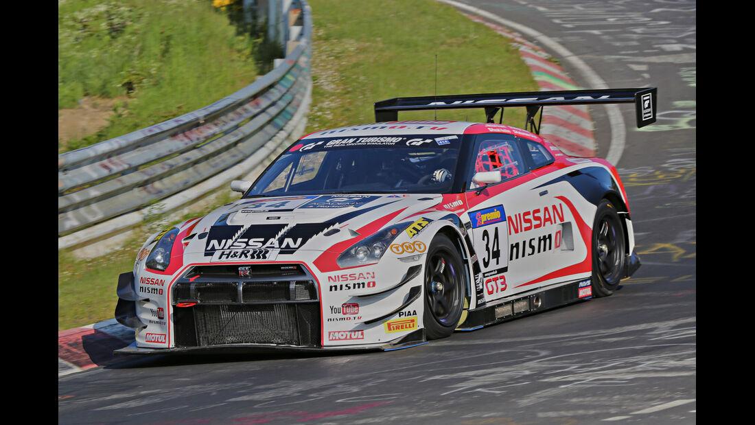 VLN Langstreckenmeisterschaft, Nürburgring, Nissan GT-R Nismo, GT3, Nissan GT Academy Team RJN, SP9, #34