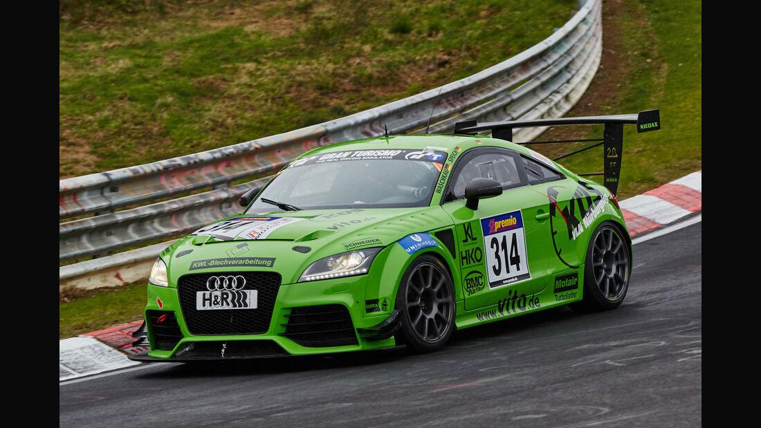 VLN - Langstreckenmeisterschaft - Nürburgring - Nordschleife - Audi TT RS - #314