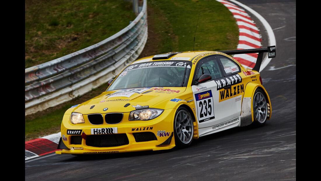 VLN - Langstreckenmeisterschaft - Nürburgring - Nordschleife - BMW 1er M-Coupé - #235