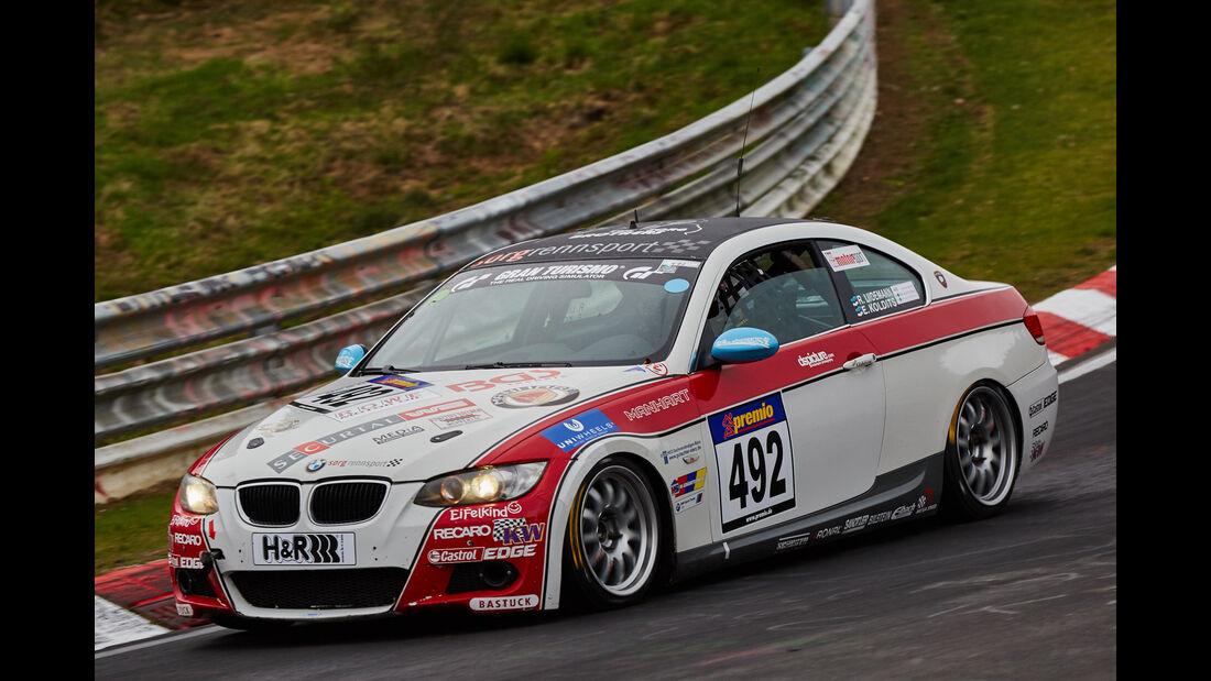 VLN - Langstreckenmeisterschaft - Nürburgring - Nordschleife - BMW 325i Coupé - #492