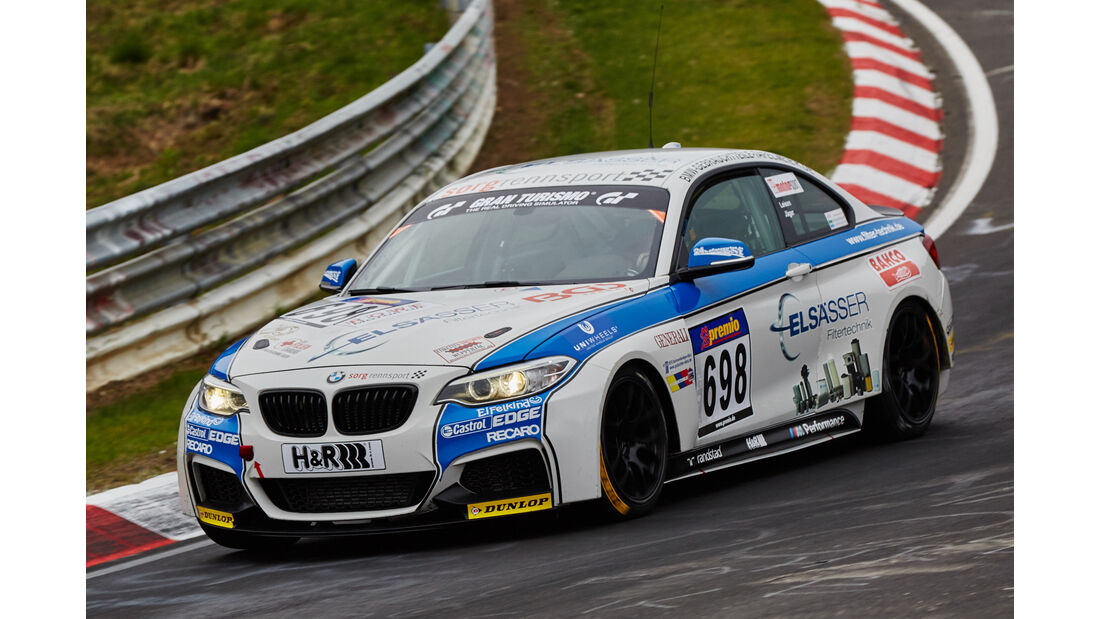 VLN - Langstreckenmeisterschaft - Nürburgring - Nordschleife - BMW M235i Racing Cup - #698