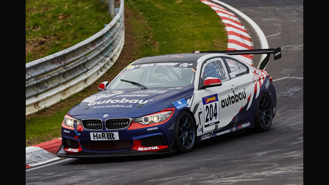 VLN - Langstreckenmeisterschaft - Nürburgring - Nordschleife - BMW M435is Racing - #204